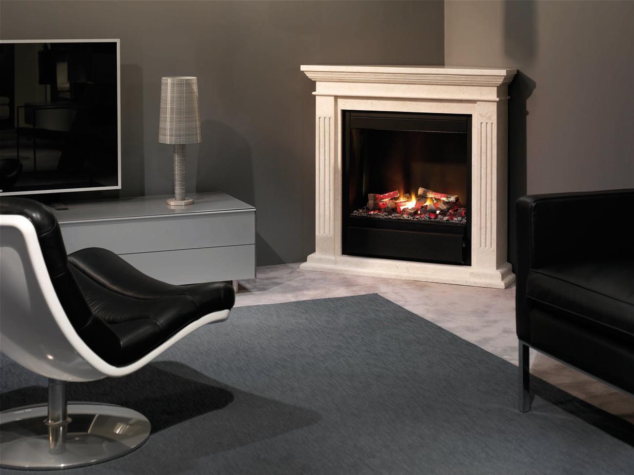 ruby fires cadiz elektro eckkamin. Black Bedroom Furniture Sets. Home Design Ideas