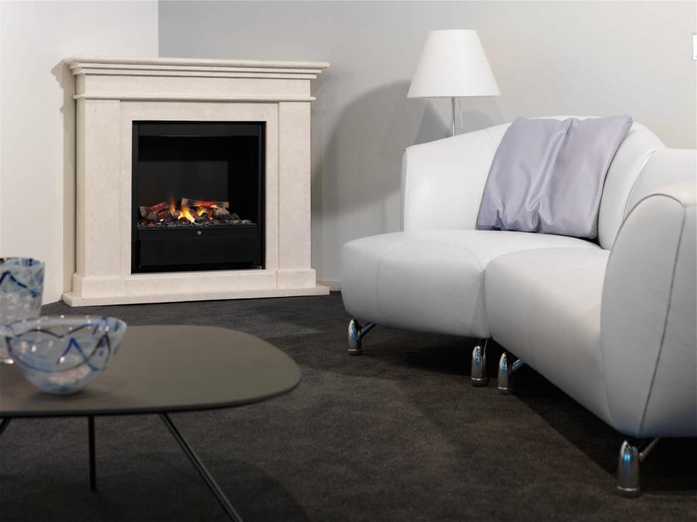 ruby fires kos elektro eckkamin. Black Bedroom Furniture Sets. Home Design Ideas