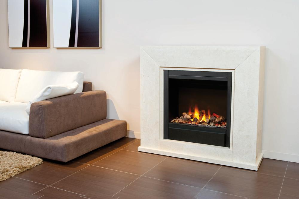 ruby fires nero elektrokamin. Black Bedroom Furniture Sets. Home Design Ideas