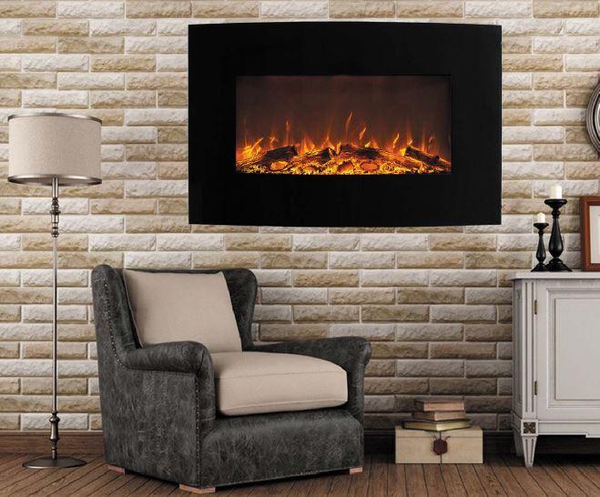 jupiter curved elektrokamin elektrokamin. Black Bedroom Furniture Sets. Home Design Ideas