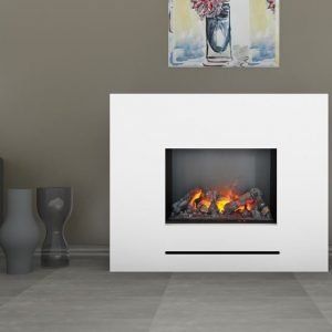 glow fire elektrokamin mit led technologie inkl heizung. Black Bedroom Furniture Sets. Home Design Ideas